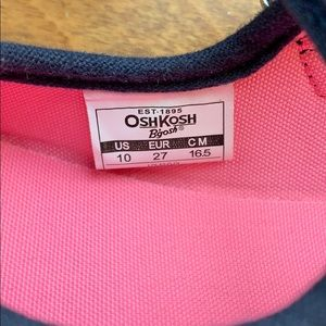 OshKosh B'gosh Shoes - Oshkosh Navy Blue Mary Jane Sneakers